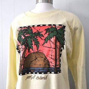 Unworn Vintage Sweatshirt Jeckyll Island Georgia